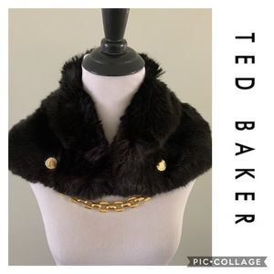 Ted Baker London Calista Collar Scarf Shawl Shrug